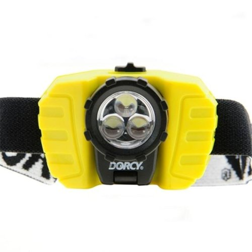Dorcy 41-2099 28 Lumen LED Headlight Flashlight - Yellow