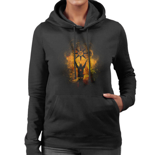 Praise The Sun Art Solaire of Astora Dark Souls Women's Hooded Sweatshirt