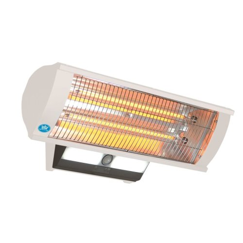 2.3 kW Calor-Luz Wall Mounted Patio Heater with Light, Remote Control and Sensor