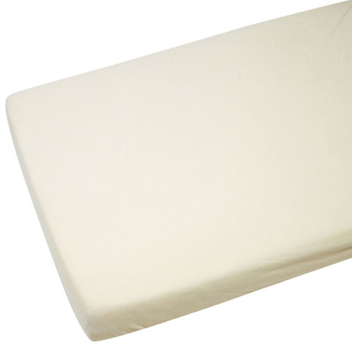 4x Fitted Sheets Compatible With Chicco Next 2 Me 100% Cotton -Cream