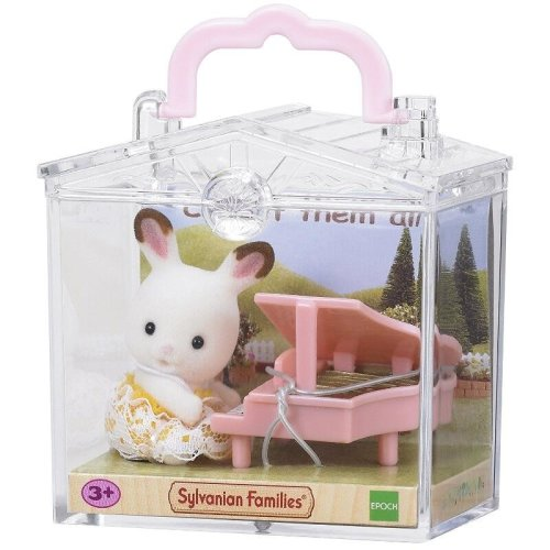 Baby Play Case Rabbit On Piano