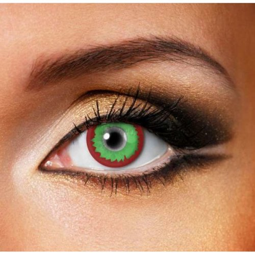 Christmas Elf Contact Lenses (Pair) - Coloured Contact Lenses