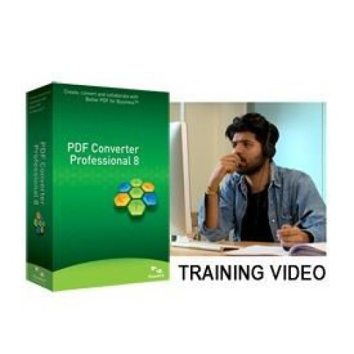 Nuance PDF Converter Professional 8 Training Video US English Brown Ba
