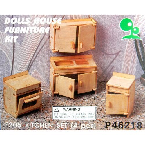 Awesome Dolls House Furniture For The Kitchen 1 12 Scale Wood Kit Download Free Architecture Designs Scobabritishbridgeorg