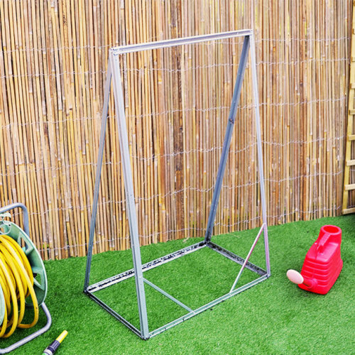 Outdoor Plant Support Frame Pea Bean Flower Stand Steel