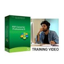 Nuance PDF Converter Professional 8 Training Video US English Brown Ba