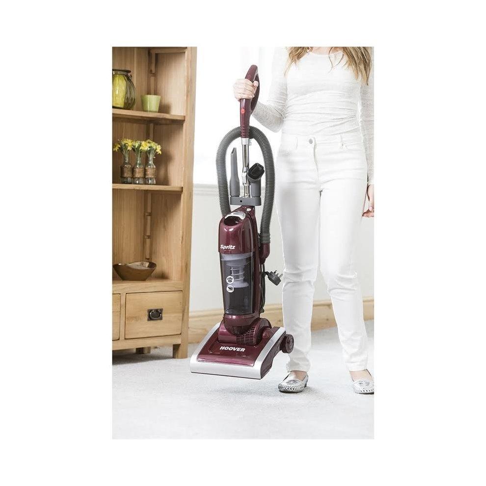 Hoover Spritz AL71SZ04 Upright Vacuum Bagless Burgundy