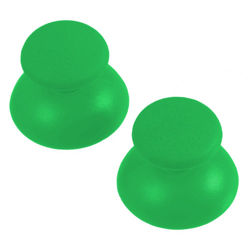 Thumbsticks for PS3 Sony Controller rubber convex analog ZedLabz – 2 pack Green