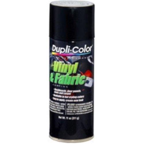 Krylon HVP106 11 oz High Performance Vinyl & Fabric Coating Spray, Flat Black