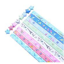 Lucky Star Folding Origami Paper - 370 Sheets