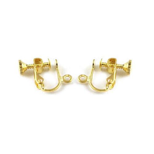 Ear Clip 2 Pieces Earring Supplies
