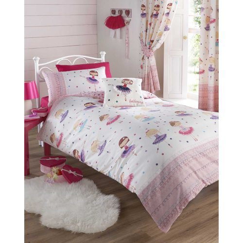 Kids Club Ballerina Junior Duvet Cover Set