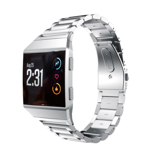 Quick Release Stainless Steel Wrist Band Bracelet Strap For Fitbit  Ionic