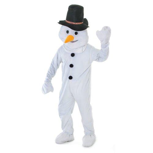 Big Head Snowman Mascot Costume | Christmas