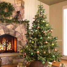 Kaemingk Everlands - Prelit Nordman Fir Artificial Christmas Tree