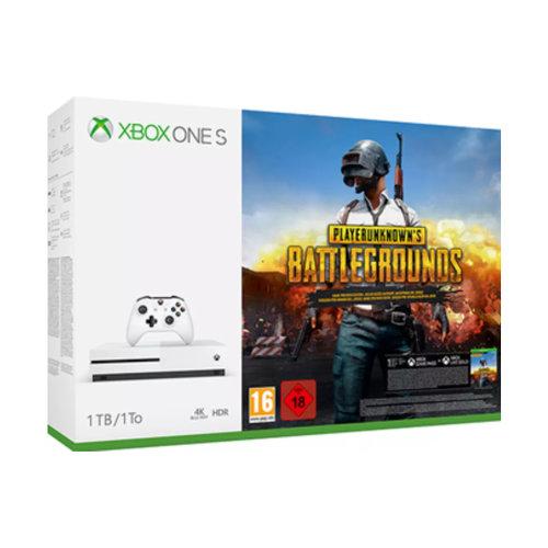 Xbox One S 1TB + PUBG Bundle