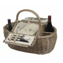 4 Person Boat Fitted Picnic Basket