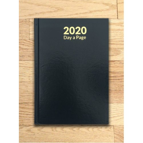 2020 A4 DAY A Page Diary Hardback Casebound Planner