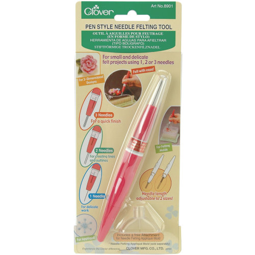 Clover Pen Style Needle Felting Tool-