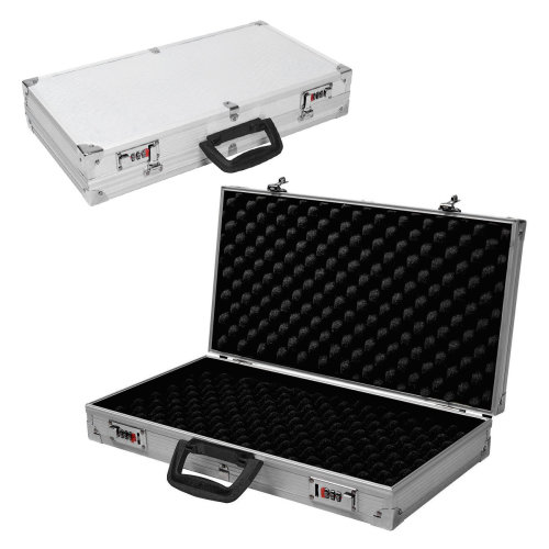 Aluminium Pistol Gun Case Carry Storage Lockable