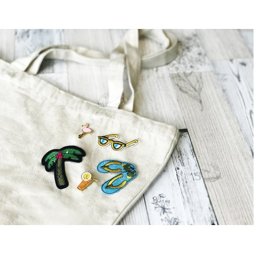 Pretty Twisted Patch DIY Kit-Just Beachy