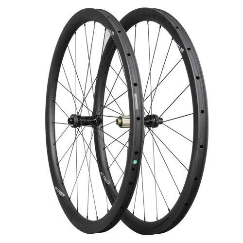 ICAN Carbon Road Bike Wheels AERO 35 Disc