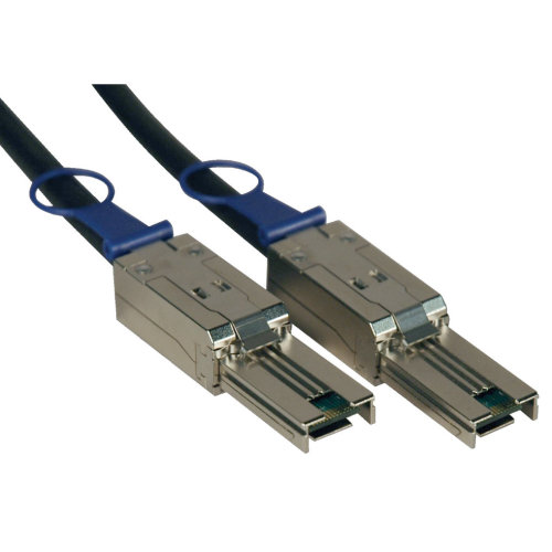 Tripp Lite External SAS Cable, 4 Lane - mini-SAS (SFF-8088) to mini-SAS (SFF-8088), 2M