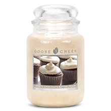 Goose Creek 24oz Large Scented 2 Wick Candle Jar White Chocolate Buttercream
