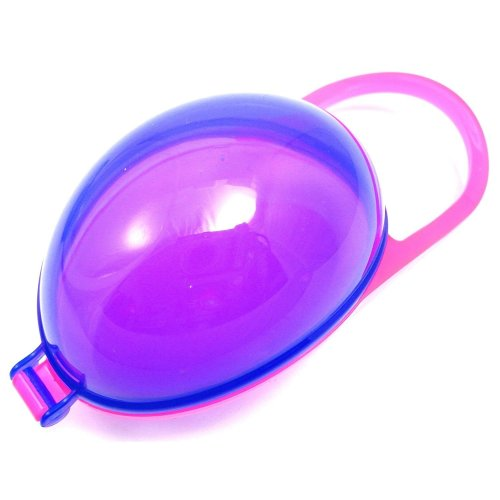 Griptight Soother Cradle Holder BPA FREE 0+mths (Pink/Purple)