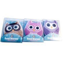 3pc Owl Hand Heater Set | Click & Heat Hand Warmers