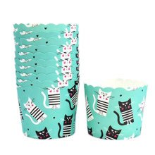 150PCS Lovely Baking Paper Cups Cake Cup Cupcakes Cases, Cat Pattern
