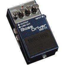 Boss BB-1X Bass Driver Compact Bass Guitar Effects Pedal