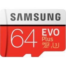 Samsung evo plus 64GB micro  SDHC Class 10 UHS-3 memory card