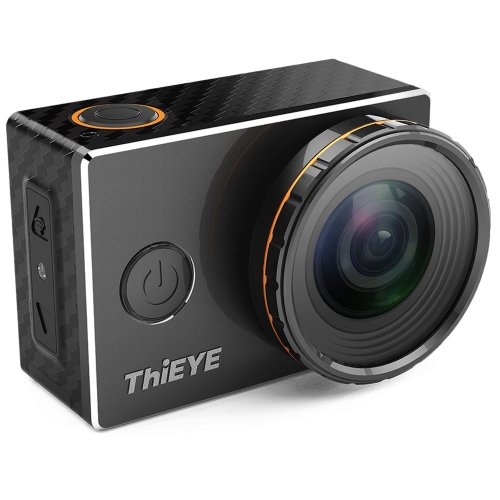 ThiEYE 4K Wifi Sports Action Camera with Replaceable Filters 360 Degree Rotation 60M Waterproof Case 1080p HD Video Cam for Cycling Helmet