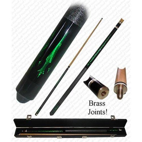 Poker 40-596GRN 58 Oz. Emerald Green Designer Pool Stick