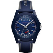 Loggede Armani Exchange AXT1002 Watch Loggede Blue Man Silicone