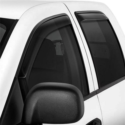 Westin W16-7237417 Channel Smoke Front & Rear Window Deflectors for 2018-2019 Ford Expedition
