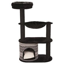Trixie Cat Tree A Giada 112 cm – black And White Cat - Scratching Post Black New -  trixie cat scratching post giada blackwhite new