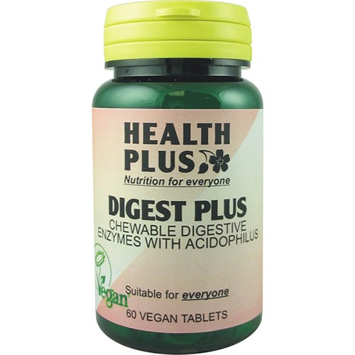 Health Plus Digest Plus 60 Vtabs  to Ensure the Efficient Digestion of Protei