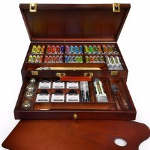 Royal Talens - Rembrandt 'Excellent' Edition Oil Paint Art Set in Wooden Chest