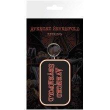 Avenged Sevenfold Logo Keyring