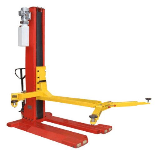 GEO SPM2500 Single Post Mobile Lift 2.5 Ton