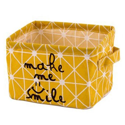 Desktop Organizer Bag Storage Box Folding Storage Basket #13