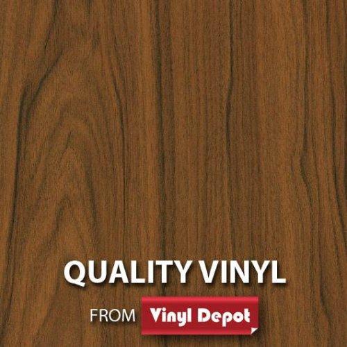d-c-fix Sticky Decor Self-Adhesive Wood Vinyl Film Walnut Medium 900mm/m