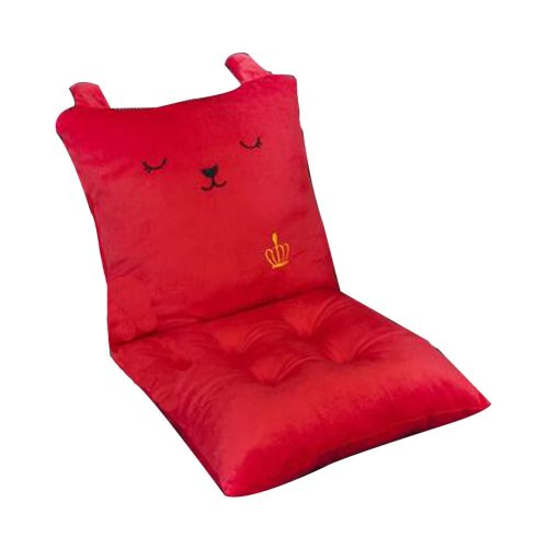 Cute Memory Foam Chair Pad And Cushions Red