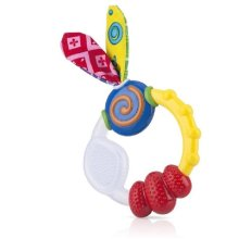 Nuby Wacky Teething Ring Teether
