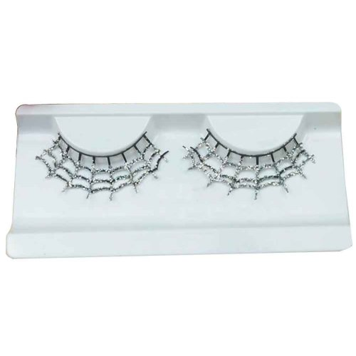 Set of 2 Long and Exaggerated False Eyelashes Extension for Cosplay [D]