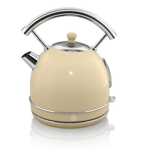 Swan Retro Dome Kettle 1.7 Litre - Cream (Model No. SK34020CN)