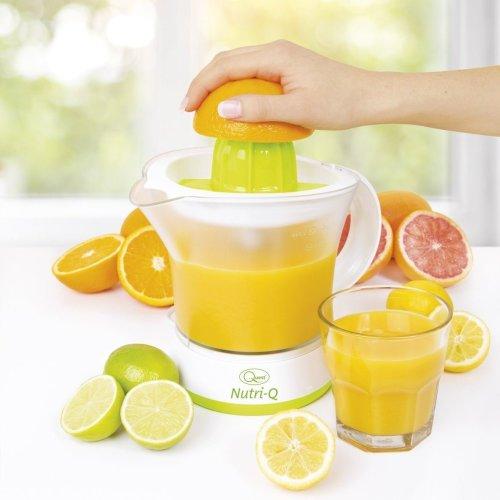 Quest Nutri-Q Electric Citrus Juicer Fruit Press Orange Juice Extractor 40W 1.2L