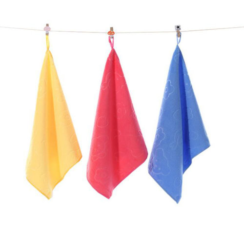 3PCS,Plush Kids Hanging Hand Towels, Fingertip Towels,Kitchen Toilets,Baby Toys